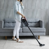 Light-weight Cordless Stick Vacuum Cleaner by BESTEK - Home Car Handheld Lithium Rechargeable Dustbuster, 4.5kpa Powerful Cyclonic Suction