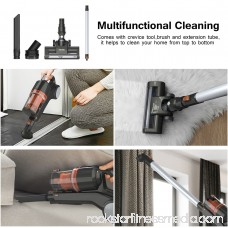 MLITER Power Plush Cordless 2-in-1 Stick Vacuum, Rechargeable Lithium Ion Battery with Wall Mount