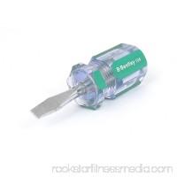 6mmx38mm Shaft 6mm Magnetic Tip Plastic Handle Slotted Flat Head Screwdriver