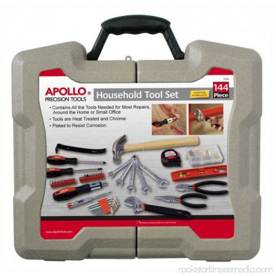 Apollo Tools 144-Piece Household Kit 552810265