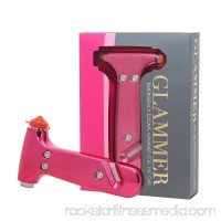 Bling Sting - Emergency Escape Hammer & Seatbelt Cutter - Pink