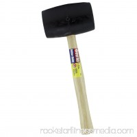 Great Neck Saw RM32 30-Ounce Rubber Mallet Wood Handle 552274116