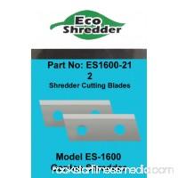 DuroStar (2) ES1600 Replacement Chipper Shredder Blades For EcoShredder