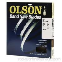 "Olson Saw WB55362DB Band Saw Blade, 62"" x 1/4"""