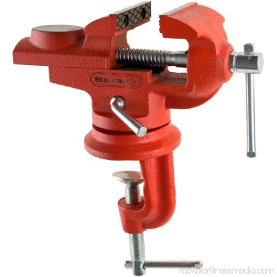 2.25 Inch Jaw Steel Universal 360 Degree Swivel Table Top Vise By Stalwart 563717935
