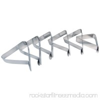 GrillPro 14864 Stainless Steel Tablecloth Clips 6 Piece Set   555614858