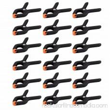 Wideskall® 2.7 inch Mini Nylon Plastic Spring Clamps - Pack of 20
