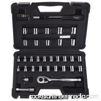 STANLEY 40-Piece Mechanics Tool Set, Chrome   STMT71648 554135856