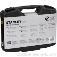 STANLEY 99-Piece Mechanics Tool Set, Black Chrome   92-839   551637391