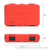 TEKTON 1/4-Inch Drive Socket Set, Inch/Metric, 6-Point, 5/32-Inch - 9/16-Inch, 5 mm - 14 mm, 51-Piece   13001   566028924
