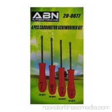 ABN 2 Cycle Stroke Carburetor Adjustment 4-Piece Tool Kit for Small Engines