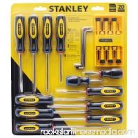 STANLEY 60-220 20-Piece Screwdriver Set   001190888