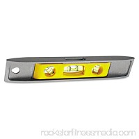 "Stanley Tools Magnetic Torpedo Level, 9"", Aluminum   552035220"