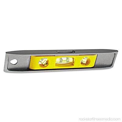 Stanley Tools Magnetic Torpedo Level, 9, Aluminum 552035220
