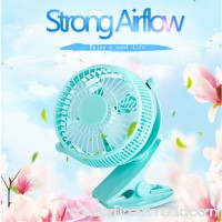 5 inch Portable with Clip USB Desktop Fan for Home Office Baby Stroller   570328760