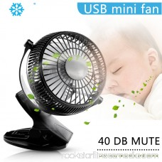 5 inch Portable with Clip USB Desktop Fan for Home Office Baby Stroller 570528854