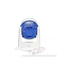 Comfort Zone 4 Personal 2-Speed Fan, Model #CZHV51TBLWM, Black 556657764