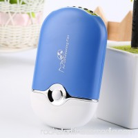 Easy Operating Convenient Rechargeable Portable Mini Handheld Air Conditioning Cooling Fan USB Cooler Practical Gift