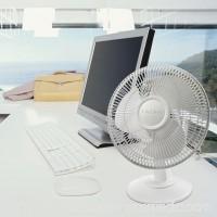 """Lasko 12"""" Table 3-Speed Fan, Model #2012, White   563474716"""