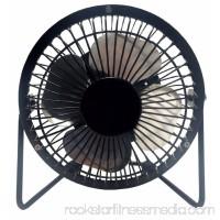 """LavoHome 4"""" High Velocity Personal Office Mini Fan, Black   556259698"""
