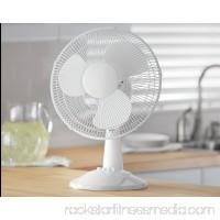 Mainstays 12 Table 3-Speed Fan, Model #FT30-8MBB, Black 565630636