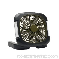"O2COOL 10"" Portable Camp Fan with Light   564330302"