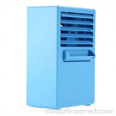 Tbest Air Conditioning Fan,Mini Portable Desktop Air Conditioning Fan for Cooling Summer Hot Day Use US Plug 100~240V, Mini Portable Fan