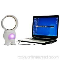TG 11 inch Robo Bladeless Fan with Light - USB Powered 565535513