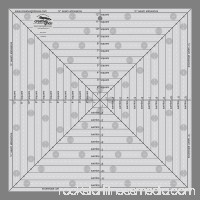 Creative Grids 12 1/2 Square It Up or Fussy Cut Square Ruler