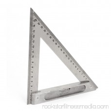 Drawing Carpentry 170mm 250mm Double Side Scale Metric Triangle Ruler Square