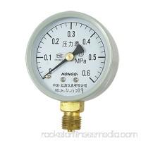 Unique Bargains Round Dial 0-0.6 MPa NPT Pressure Gauge Measure Tool