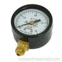 Unique Bargains Unique Bargains Round Dial 0-1.6 MPa Manometer Air Pressure Gauge