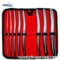 "8 Hegar Dilator Sounds Set 7.5"" Double Ended Gynecology Surgical Instrument"