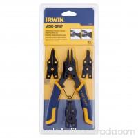 Irwin Vise-Grip Combination Internal/External Snap Ring Pliers Set   552408375