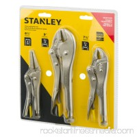 Stanley Locking Pliers Set - 3 PC, 3.0 PIECE(S) 551748646