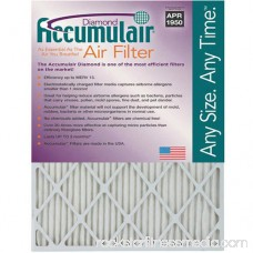Accumulair Diamond 1 Air Filter, 4-Pack 553956667