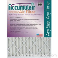 "Accumulair Diamond 1"" Air Filter, 4-Pack   553957062"