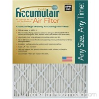 "Accumulair Gold 1"" Air Filter, 4-Pack   553950858"