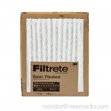Filtrete Basic Pleated HVAC Furnace Air Filter, 100 MPR, 16 x 20 in, 1 Filter 553598352