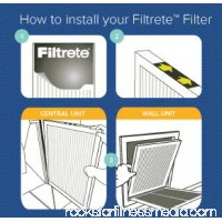 Filtrete Clean Living Dust Reduction HVAC Furnace Air Filter, 300 MPR, 16 x 20 x 1 inch, Pack of 4 Filters   555080505