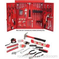 Hyper Tough 151-Piece Hand Tool Set, Metal Wall Cabinet 554249687