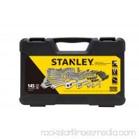 STANLEY 145-Piece Mechanics Tool Set, Chrome | STMT71653 550736163
