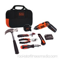 BLACK+DECKER LI2000PK 3.6V 3 Position Rechargeable Screwdriver and Project Kit   551550563