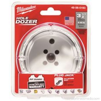 MILWAUKEE ICE HARDENED BI-METAL HOLE SAW 3-1/2 IN.