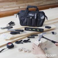 Hyper Tough 53-Piece Home Repair Tool Set, Teal 555702193