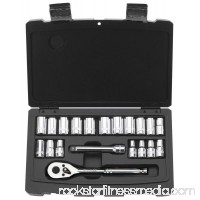 Stanley Consumer Tools 92-802 Mechanic Socket Set, 1/4-In. SAE, 20-Pc.