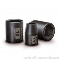 TEKTON 1/2-Inch Drive Shallow Impact Socket Set, Metric, Cr-V, 6-Point, 11 mm - 32 mm, 14-Sockets | 4817 566029008