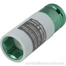 Titan - 21094 1/2 Drive Deep Lug Nut Socket. Size 22mm