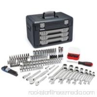80943 0.25 & 0.37 in. Drive Metric Mechanics Hand Tool Set - 168 Piece