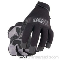 Black Stallion 19FX-BLK FlexHand Reinforced Mechanic's Gloves Small to 2XL